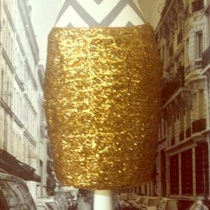 Cache gold sequins skirt. 50% off!